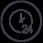 24timers-adgang-lilla